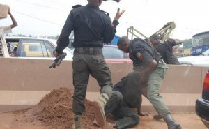 And when the Police have run mad nko?