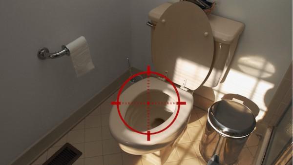snipe toilet