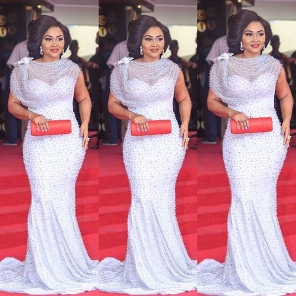Mercy Aigbe Amvca glam