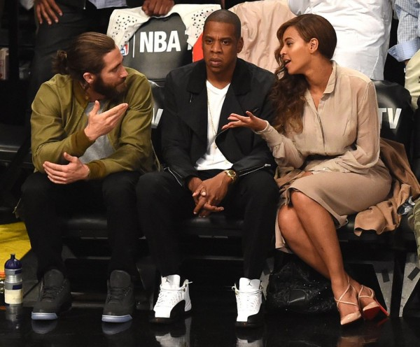 Beyonce-Jay-Z-Jake-Gyllenhaal-NBA-Playoffs-Game