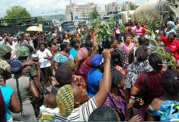 Abuja-Women-protest