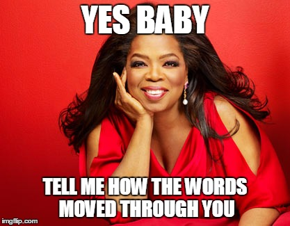 Oprah words