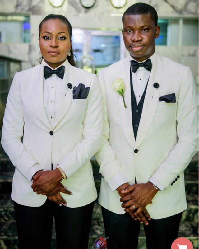 new trend lady plays role of brother s best man at wedding photos