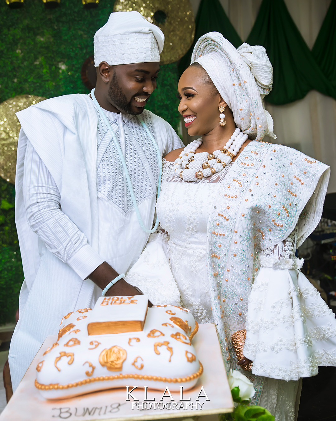 Beautiful portraits from Bunmi and Dapo's wedding