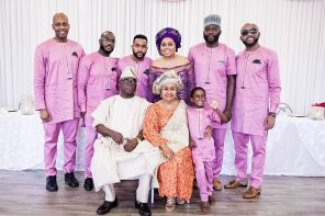 Banky W's parents celebrate 40th wedding anniversary in grand style