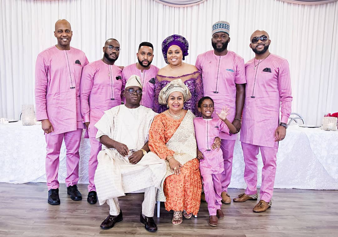 Banky W\'s parents celebrate 40th wedding anniversary in grand style ...
