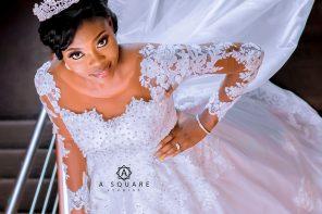 White wedding photos of Elizabeth & David | Asquare studios