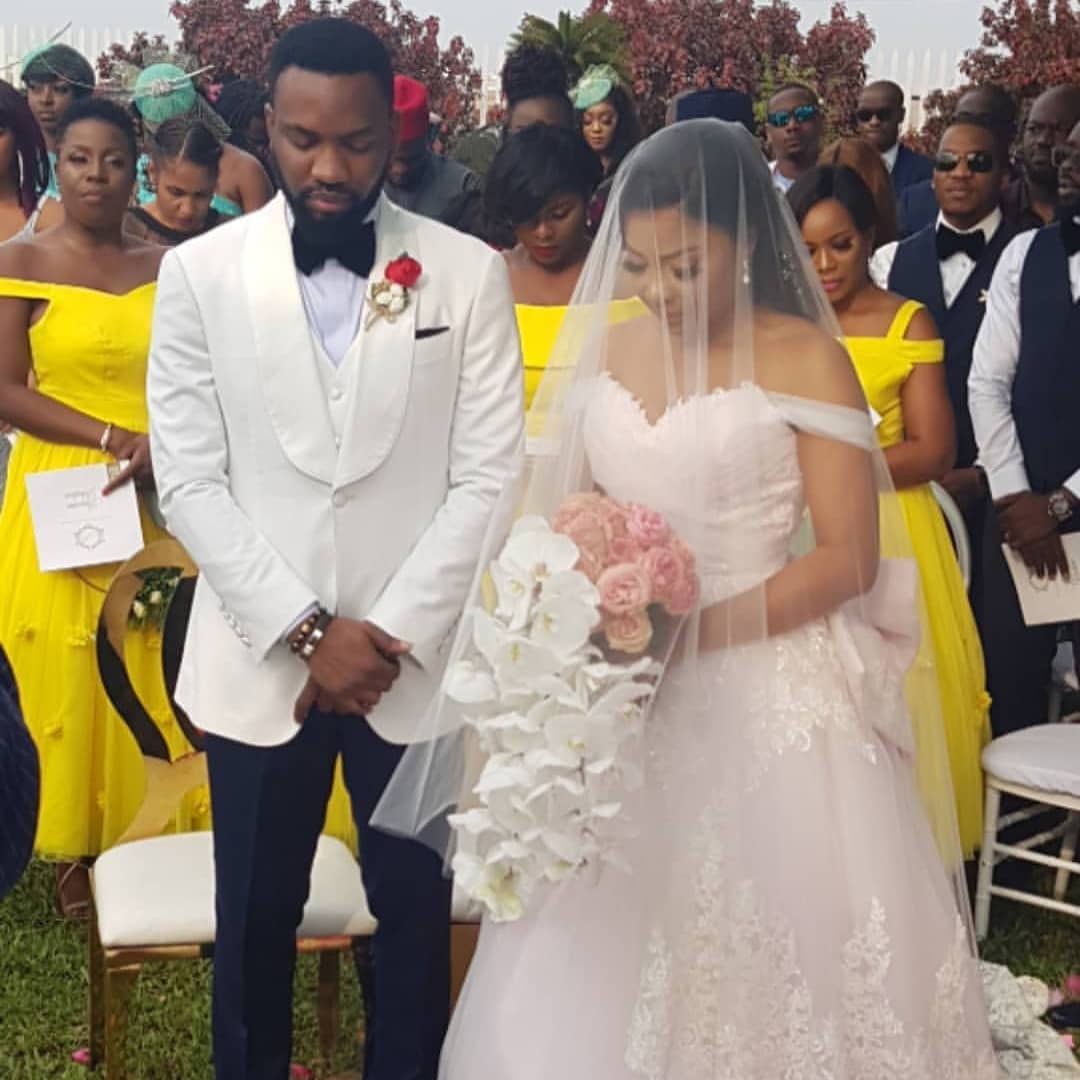 Celebrity Wedding Trivia Questions: More Photos From Linda Ejiofor's Wedding To Ibrahim