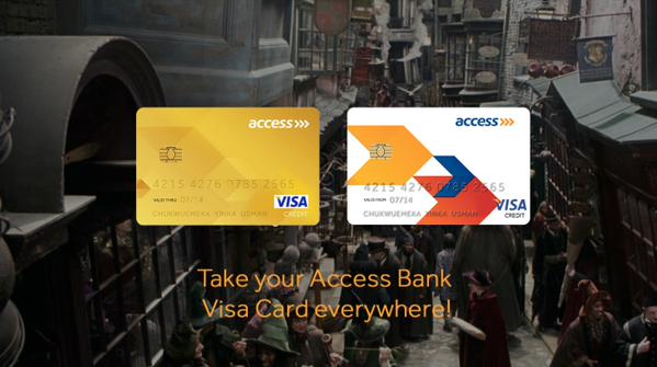 Access Bank Diagon Alley