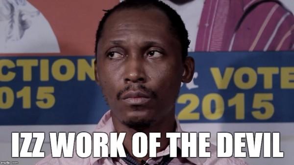 Frank Donga devil meme