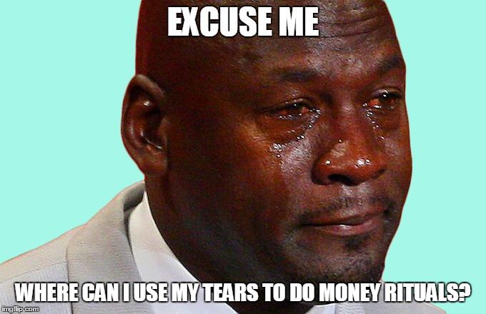 Jordan tears broke