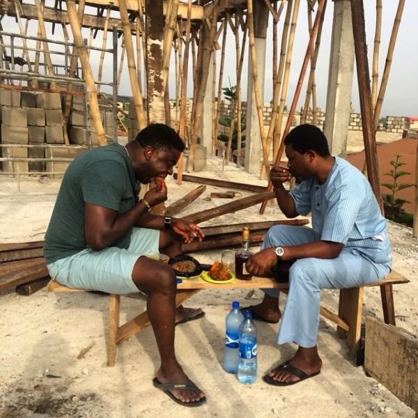 Kunle Afolayan and Yomi Fash Lanso
