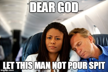 Passenger sleeping