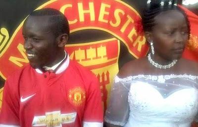man U wedding