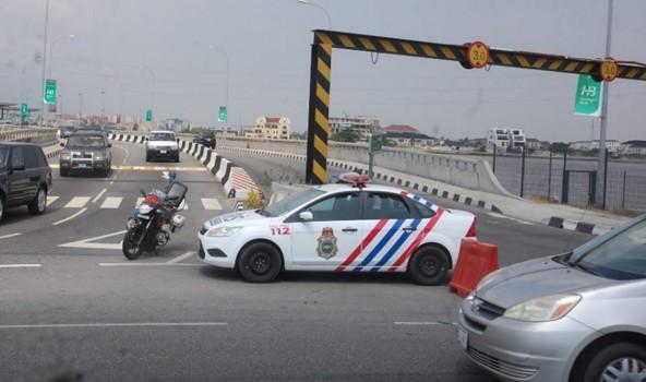 Lagos Police cars