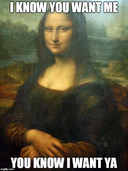 Mona want me