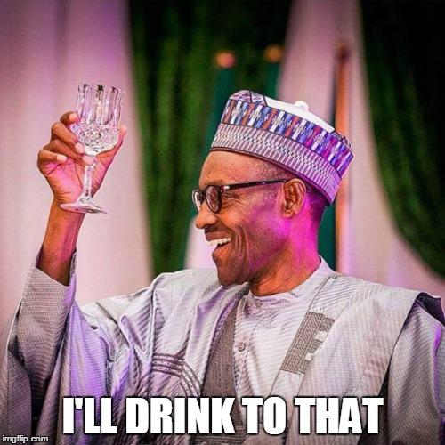 Buhari cheers