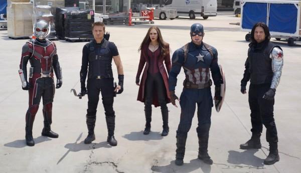 Captain America gang