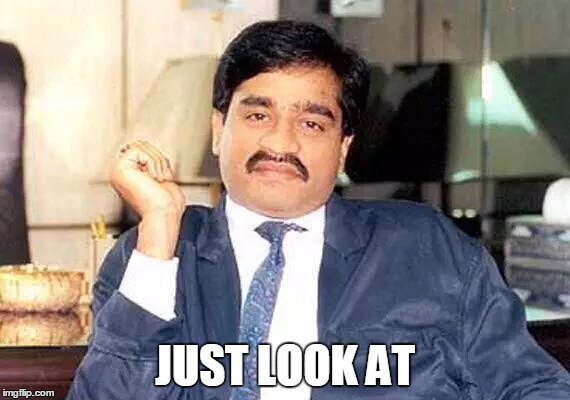 Indian man look at