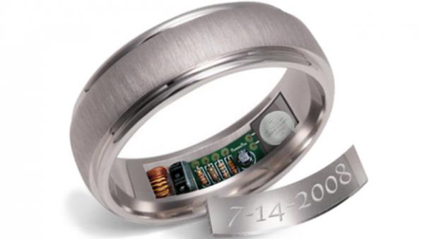 Wedding ring GPS