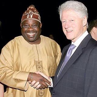 Dele Momodu Bill CLinton