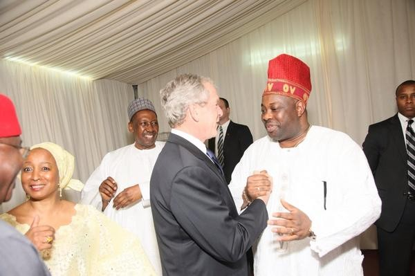 Dele Momodu George Bush