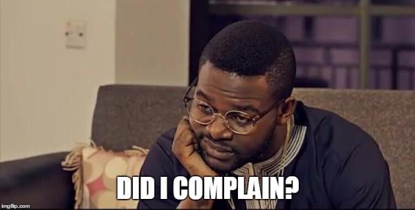 Falz complain