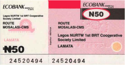 Lagos-ticket