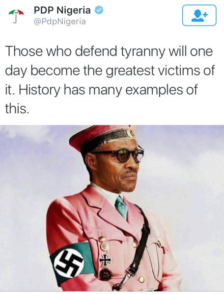 PDP-Buhari-Hitler