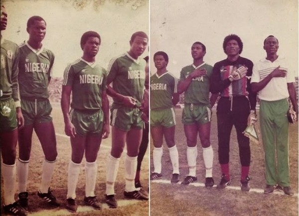 Stephen Keshi6 Seoul '88 Olympic qualifiers, January 1988