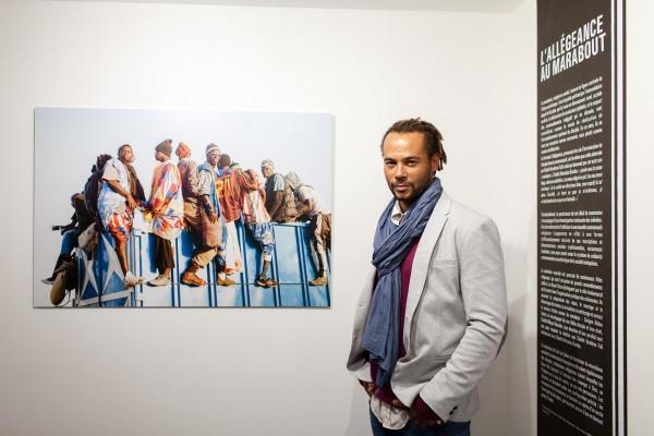 Exposition La Voie du Baye Fall du photographe sénégalais Fabrice Monteiro dans le cadre du festival Par ICI-Dakar et du Tandem Dakar-Paris, à l'Institut des Cultures d'Islam (Paris 18e)