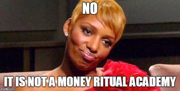 money ritual academy nene