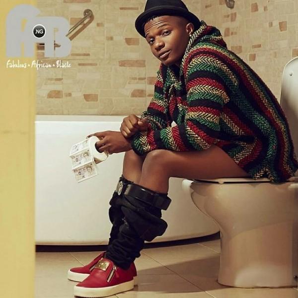 wizkid toilet