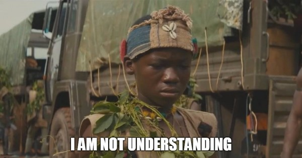 Agwu not understanding