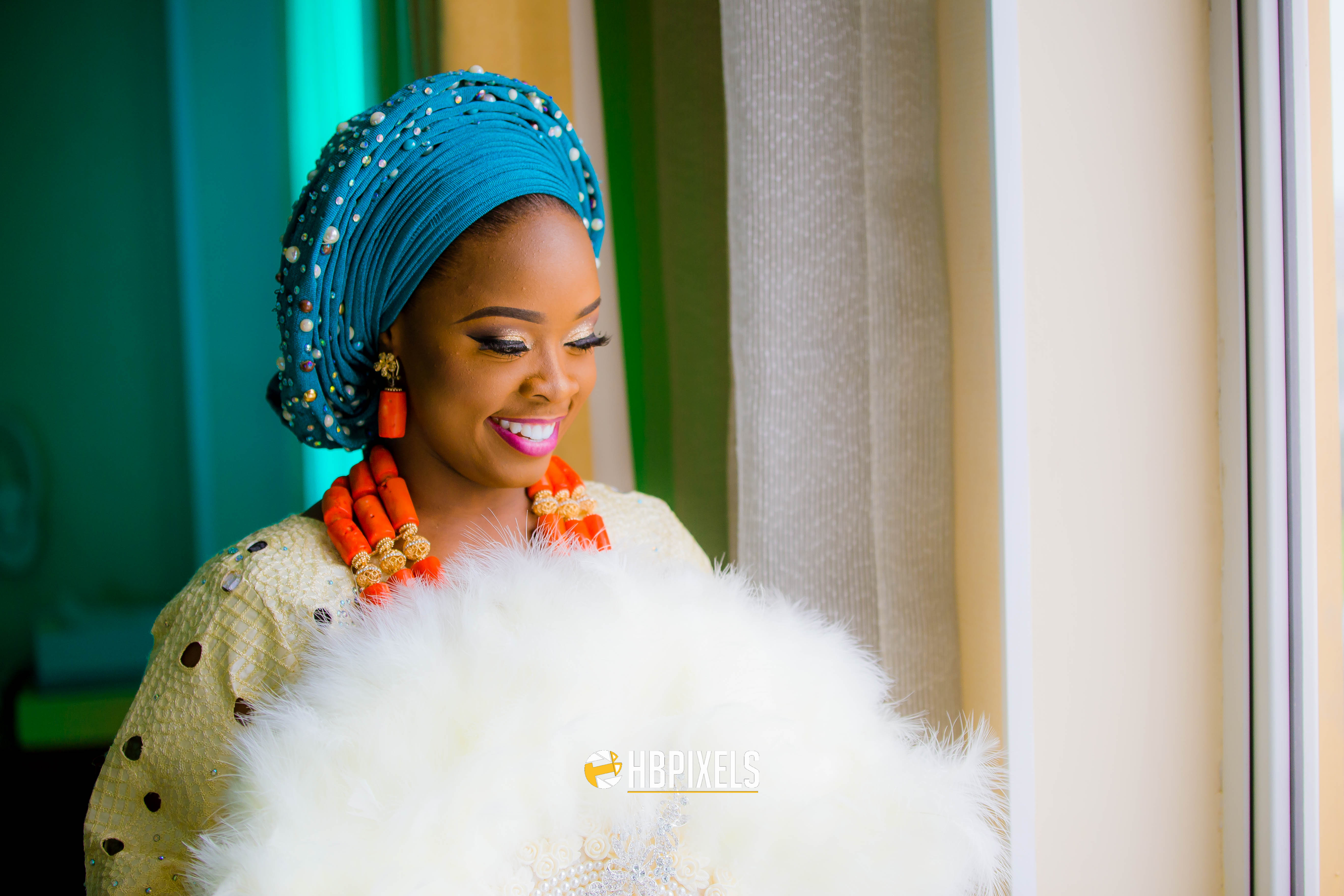 Amazing photos from Tayo and Lolade's traditional wedding